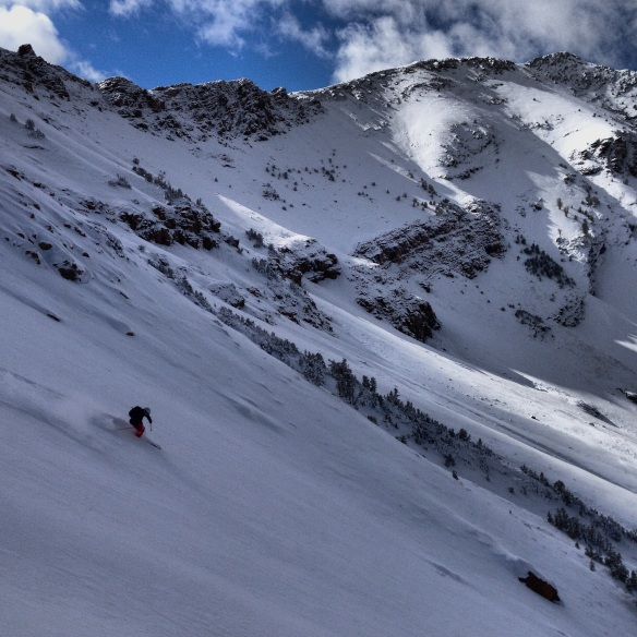 """20"""" of snow on smooth shale equals smooth sailing."""